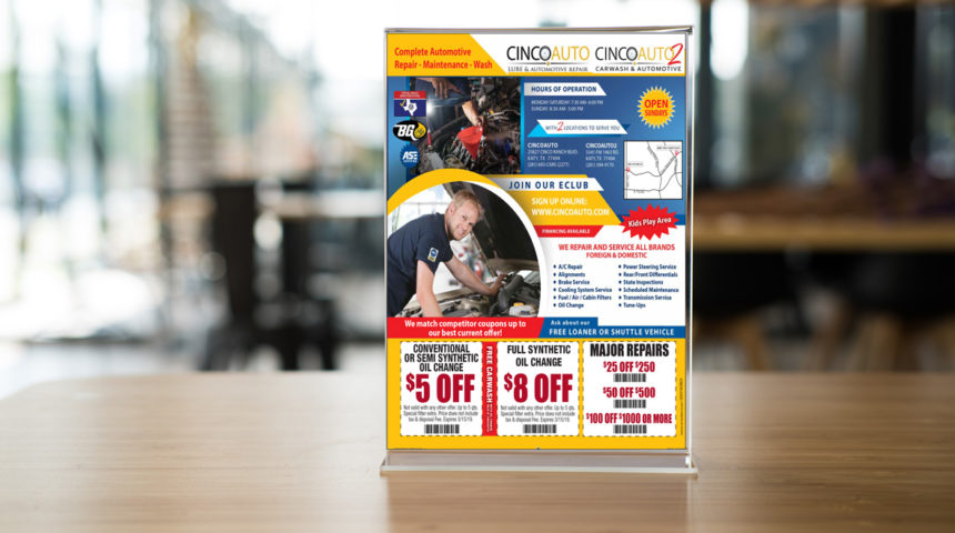 Direct Mail Cinco Auto
