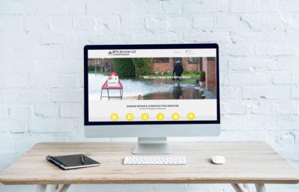 MTA Services Website Design