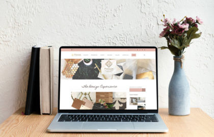 Paragon Design Firm Website Design