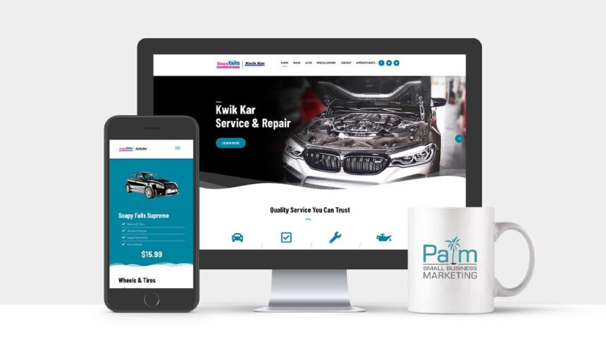 Kwik Kar North Austin Web Design